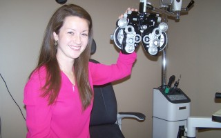 Newly minted optometrist Dr. Ashley Jadene Stevens. ELLEN C. CHAHEY PHOTO  (photo: Ellen C. Chahey)