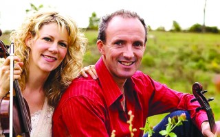 Natalie MacMaster and Donnell Leahy. COURTESY PHOTO  (photo: )