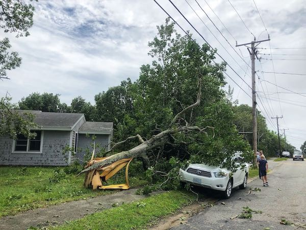 Stony Hill Road in Chatham. KAT SZMIT PHOTO