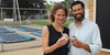 Elizabeth and Michael Doucette opened their vegan ice cream shop this past weekend to the back side of the Trampoline Center along Route 28 in Harwich. WILLIAM F. GALVIN PHOTO  (photo: William F. Galvin)