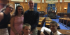 Monomoy High School's James Otis Scholars. From left, Cesca Barr, Grace Boyle, Owen Van Sickle, David Van Sickle, and Ben Thomas.  (photo: )