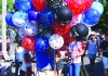 Balloons for sale at last year's July 4 parade in Chatham. The St. Martin's Masonic Lodge will no longer be selling balloons at the parade or Friday night band concerts, following the town's vote in May to ban the sale of balloons. FILE PHOTO  (photo: Tim Wood)