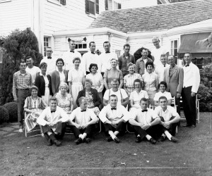 The Wayside Inn staff, Chatham. 1950s. FILE PHOTO  (photo: )