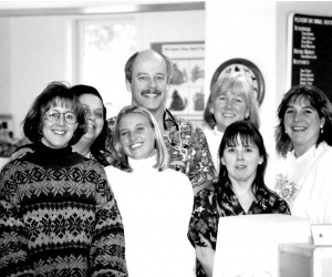 Staff from Pleasant Bay Animal Hospital. 2002. FILE PHOTO  (photo: )