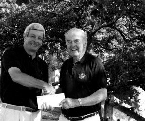 Paul Garman and Frank Murphy at the Chatham Rotary Luncheon. 1990s. FILE PHOTO.  (photo: )