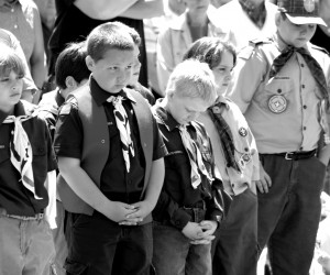 Boy Scouts on Memorial Day. 2005. FILE PHOTO.  (photo: )