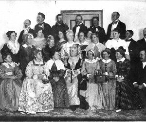The Old Folks Concert in Orleans, 1897. PHOTO COURTESY OF ORLEANS HISTORICAL SOCIETY  (photo: )