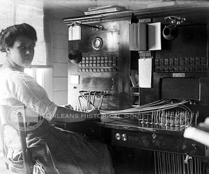 Olive the Switchboard operator. PHOTO COURTESY OF ORLEANS HISTORICAL SOCIETY  (photo: )