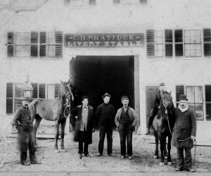 C. H. Shattuck Livery Stable in Orleans.  PHOTO COURTESY OF ORLEANS HISTORICAL SOCIETY  (photo: )