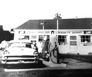 Dave's Garage in Harwich after building was remodeled in 1953 PHOTO COURTESY OF CAROLYN BOGERT COOMBER  (photo: )