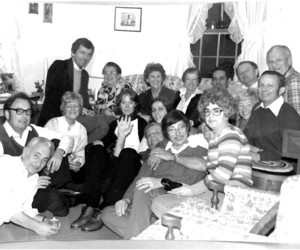 "The ""gang"" gathered in November 1980 for Roy Eldredge's birthday in Chatham. PHOTO COURTESY OF DEBBIE ELDREDGE  (photo: )"