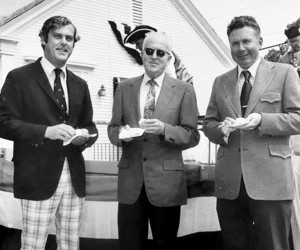 Chatham Selectmen Thomas R. Pennypacker II, Chairman Edward T. Harrington and J. Warren Sampson, 1976. PHOTO COURTESY OF PAIGE PENNYPACKER  (photo: )