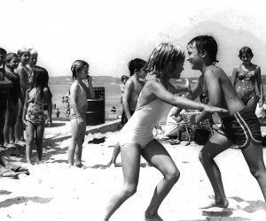 Children playing at Hardings Beach. 1980s.  FILE PHOTO  (photo: )