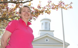 Janet Cassidy, the new executive director of Harwich Historical Society.  (photo: Alan Pollock)
