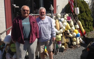 Bob Denn and Dave Libby, past and current owners of Cape Fishermen's Supply, now celebrating its 40th year in business. DEBRA LAWLESS PHOTO  (photo: )