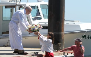 Chatham has held a blessing of the fleet annually since 2008. Above is a scene from the 2013 event. FILE PHOTO  (photo: )