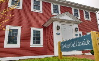 Cape Cod Chronicle global headquarters.  (photo: Alan Pollock)