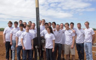The Vanderbilt Aerospace Design Lab (VADL) team at the NASA competition. From left, Dexter Watkins, Robb Rutherford, Justin Broughton, Andrew Martin, Quinlan Monk, David Hirsch, Ben Gasser, Matt Kelley, Robin Midgett, Andrew Voss, Jimmy Pan, Rebecca Riley, Mitch Masia, Henry Bristol, Dylan Shane, Dustin Howser, Chris Lyne, Chris Romanoski, Bryan Lawson and Eric Ribbeck. PHOTO COURTESY OF AMRUTUR ANILKUMAR  (photo: )