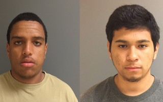 Two Hyannis teens, Wilhelm Alvarez (left) and Cesar Mata (right) were arrested for allegedly robbing the Corner Store while armed and masked Friday evening.  CPD PHOTOS  (photo: Chatham Police Department)