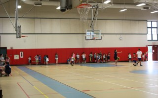 The community center gymnasium was busy on Friday morning with kids enjoying the recreation program. Officials last week voted to raise the rates on renting the center's various facilities. WILLIAM F. GALVIN PHOTO  (photo: )
