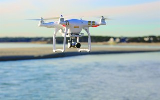 Harwich can't ban drones from flying over beaches, but officials plan to put in place a regulations prohibiting the devices from taking off and landing at beaches. CHRISTOPHER SEUFERT PHOTO  (photo: )