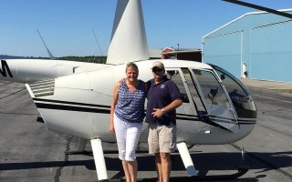 Tyra Pacheco and pilot John Ryan both suffered multiple serious injuries in the June 17 crash. COURTESY PHOTO  (photo: )