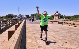 The new Chatham in the Fall run will follow the traditional course of the Chatham Harbor Run, but will take place in cooler weather, which should make many runners super happy. Chronicle File Photo/Kat Szmit  (photo: Kat Szmit)