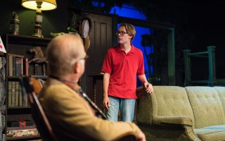 "Paul Widegren and Wil Moser in ""On Golden Pond"" at Cape Cod Theatre Company, Home of the Harwich Junior Theatre. DELANE O'CONNOR PHOTO  (photo: )"
