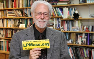 Robert Aron, chairman of the Cape Cod Chapter of the Libertarian Party. ALAN POLLOCK PHOTO  (photo: )