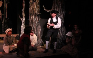 Legend of Sleepy Hollow at Cape Cod Theatre Company.  
