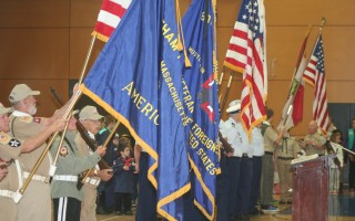 Last year's Veterans Day ceremony in Chatham. FILE PHOTO  (photo: )