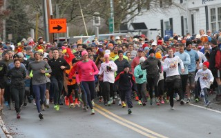 The 2014 Chatham Turkey Trot gets under way. This year's event takes place Nov. 24 at 8 a.m. in Chatham. Chronicle File Photo   (photo: )