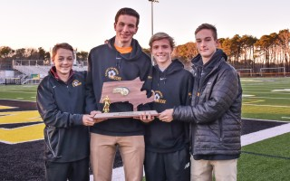 The amazing story of the 2016 Nauset boys soccer team includes Chatham players Colin Terrio, Ben Mulholland, Vance Bates, and Avery Santoro.  KAT SZMIT PHOTO  (photo: Kat Szmit)