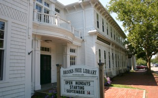Brooks Free Library.  FILE PHOTO  (photo: William F. Galvin)