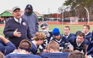 Monomoy football coach Paul