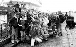 Mrs. Avery's 11th grade science class from Chatham goes to Woods Hole on a field trip. 1991. FILE PHOTO    (photo: )