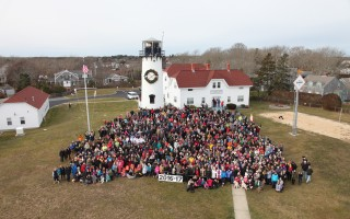 The annual town photo taken at noon at the Chatham Lighthouse and Coast Guard Station. SPENCER KENNARD PHOTO  (photo: )