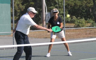 Pickleball is growing in popularity, especially among adults. FILE PHOTO  (photo: Eric Adler)