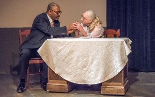 "Rob Langhorn and Karen McPherson in ""Driving Miss Daisy."" MICHAEL AND SUZ KARCHMER PHOTO  (photo: )"