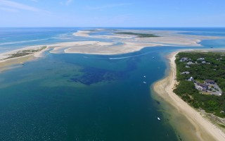 The Southway, shown in the upper portion of this photo, is a chief shellfish resource now, but officials are concerned that shifting sands could make the area inaccessible. CHRISTOPHER SEUFERT PHOTO 