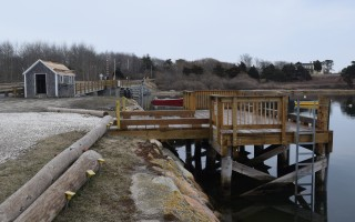 Improvements to the town-owned property at 90 Bridge St. are among the $13 million in waterfront infrastructure projects selectmen are considering grouping into a single appropriation article for this May's annual town meeting. TIM WOOD PHOTO  (photo: )