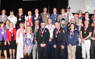 Heroes recognized by the American Red Cross last week.  ALAN POLLOCK PHOTO  (photo: Alan Pollock)