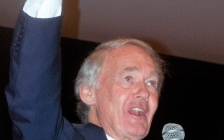 Senator Edward Markey addresses a crowd in Orleans. ED MARONEY PHOTO  (photo: )