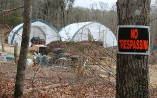 Hoop houses at Resilient Family Farm.  FILE PHOTO  (photo: William F. Galvin)