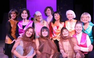 "The cast of ""Wrinkles."" COURTESY PHOTO 