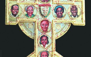 The Emanuel Nine Icon created by Harwich artist Pamela Chatterton-Purdy. COURTSY PHOTO  (photo: )
