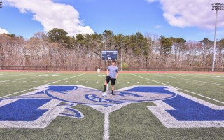 In spite of being born with three congenital heart defects, Monomoy freshman Ryan Meehan is determined to become not only a stellar soccer player and track star, but also a successful cardiologist. Kat Szmit Photo  (photo: )