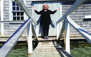 ">Harwich Author Joan Anderson, whose memoir ""A Year By The Sea"" inspired a film by the same name that opens at Chatham's Orpheum Theater this weekend. COURTESY PHOTO  (photo: )"