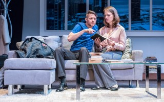 "Jon Kovach and Nichole Hamilton in ""Sex with Strangers."" MICHAEL/SUZ KARCHMER PHOTO  (photo: )"