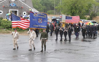 The Memorial Day procession in Orleans. ALAN POLLOCK PHOTO  (photo: )